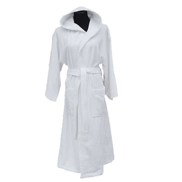 Soft Terry Hooded Robe (1)