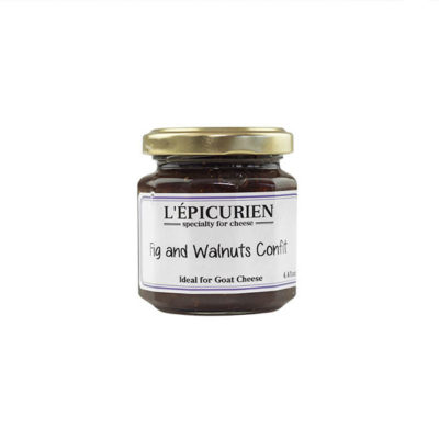 Fig And Walnut - L'epicurien Confit - Jan de Luz Linens