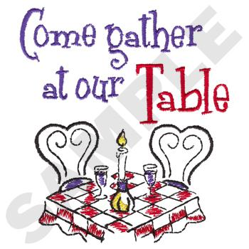 Come Together At Our Table KC0751