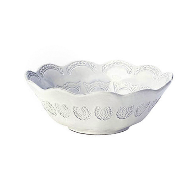 Lace Round Bowl One