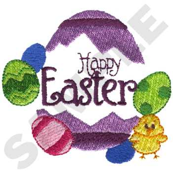 HY0777 - Easter Embroidery