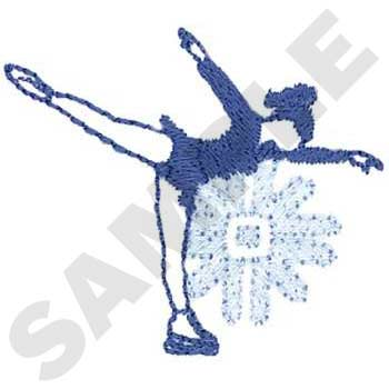 SP1478 - Ice Skating Embroidery