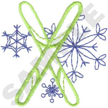 SP4965 - Skiing Embroidery