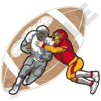 Football Player Tackle #SP1122