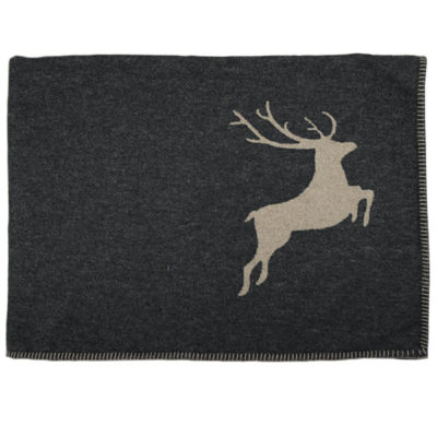 Deer Flannel Blanket